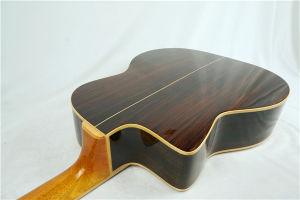 Wholesale Solid Spruce Handmade Petit Bouche Style Gypsy Jazz Guitar pictures & photos