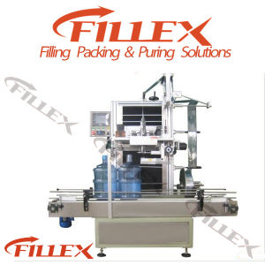 5 Gallon Bottle Mouth Shrink Sleeve Labeling Machine pictures & photos