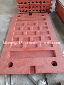 Swing and Fixed Jaw Plate for Jaw Crusher pictures & photos