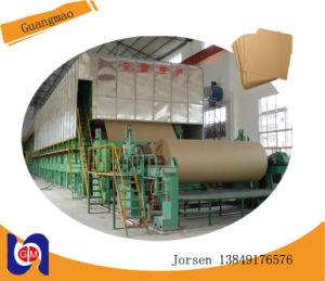 Kraft Paper Roll Making Machine Rice Straw, Waste Paper Pulp pictures & photos
