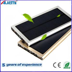 Ultrathin Solar USB Power Bank 8000mAh for Mobile Phone