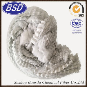 Low Price Colored Suzhou Bausda Polyester Staple Fiber PSF Tow pictures & photos