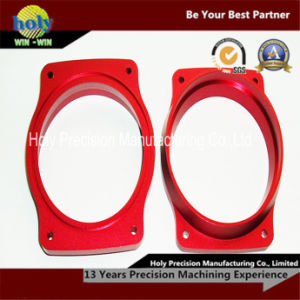 CNC Machining Aluminum Frame with Red Anodized pictures & photos