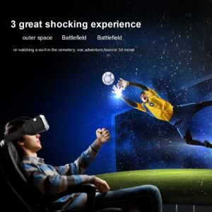 Virtual Reality 3D Glasses, Cardboard Vr Box Headset Hands Free Support Vr Movies AV Video Game for Apple iPhone,Samsung,Other 4 to 6 Inch Android Smart Phones pictures & photos