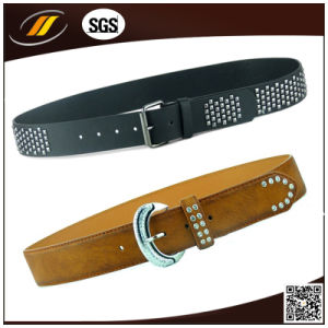 Stud Pin Buckle Male Fashion Leather Belt (HJ0332)