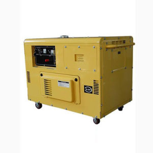 8.5kVA Single Phase Silent Type Portable Diesel Generators (ZDE12T) pictures & photos