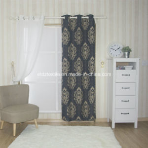 100% Polyester Jacquard Ali Miranda Curtain pictures & photos