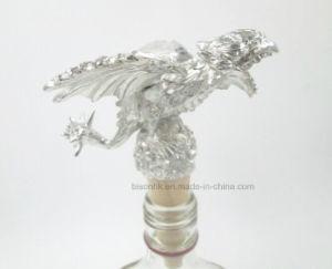 High Quality Zinc Alloy + Wood Bottle Stopper pictures & photos