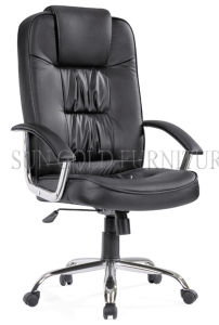 Fashionable Cheap Metal Manager Swivel Office Chair (SZ-OCA1010H) pictures & photos