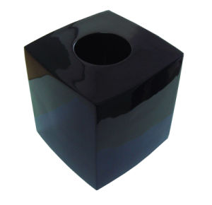Elegant Black Square Tissue Box pictures & photos