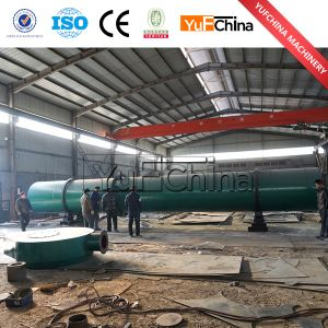Yufeng Best Selling Wood Chips Rotary Dryer pictures & photos