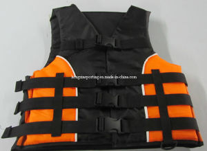 Nylon Life Jacket with Polyester (HXV0011) pictures & photos