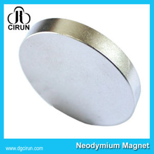 Super Strong Thin Neodymium 20mm Disc Magnets pictures & photos