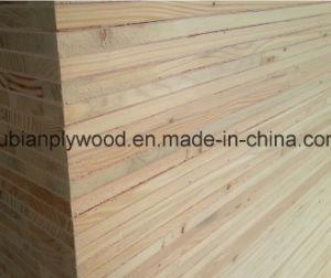 1220*2440mm 18mm Red Oak Veneer Faced Blockboard Falcata Core pictures & photos
