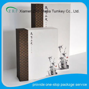 Chinese Style Paper Packaging Box with Draw pictures & photos