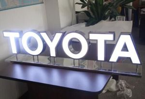 Face-Lit Stainless Steel LED Channel Letter for Shop Signage pictures & photos