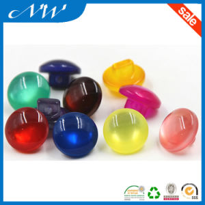 Polyester Resin Shank Button with Pearlised Top pictures & photos