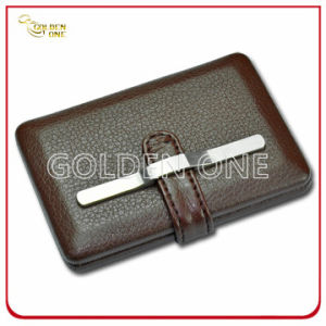 Hot Sale Genuine Leather and Metal Cigarette Holder pictures & photos