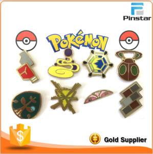 Otaku Anime Pocket Monster Pokemon: Kanto Gym Badges Set of 41 Metal Pins Cute pictures & photos