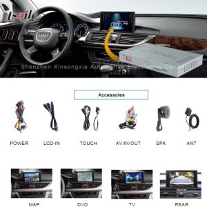 HD Car Upgrade GPS Video Interface Navigation Box for 09-14 Audi A6l pictures & photos