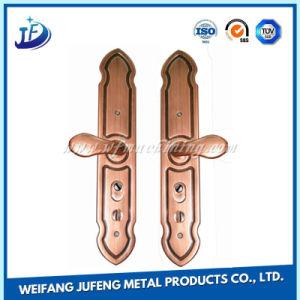 Zinc Alloy Stamping Handles with Lock for Wooden/Galss Door pictures & photos