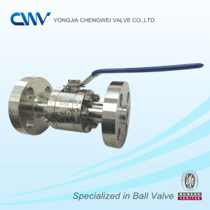 Three Pieces Forged Steel Floating Flanged Ball Valve
