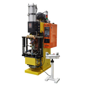Heron 330kVA Mfdc Welding Machine for Oil Filling Port Hinge pictures & photos