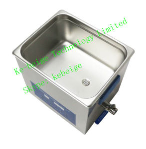 10L 240W Double Frequency Degassing Ultrasonic Cleaner with Heater pictures & photos