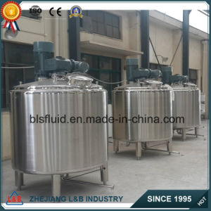 Stainless Steel Jacketed Shower Gel Mixer/Emulsifying Mixer pictures & photos
