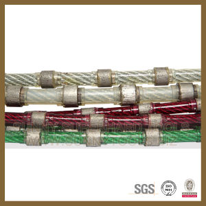 11.5mm Diamond Wire Saw for Cutting Granite Marble Sandstone Limestone pictures & photos