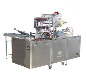 Chocolate Box Cellophane Overwrapping Machine (LS-300L) pictures & photos