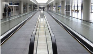 0.5m/S Speed Airport Moving Sidewalk for Passenger