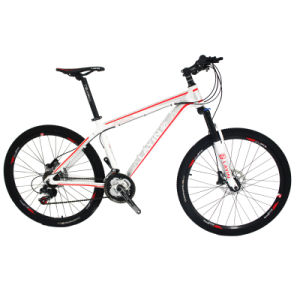 Oil Hydraulic Disc Brake 21-Speed Mountain Bike with Shimano Derailleur pictures & photos