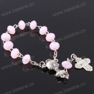 8mm Christian Multi-Colored Glass Rosary Chaplet pictures & photos