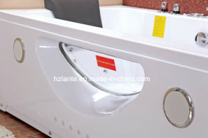 Rectangle Corner Whirlpool Bathtub (TLP-659) pictures & photos
