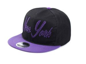 New Design Flat Bill Hip Hop Hats with Mesh Cover pictures & photos