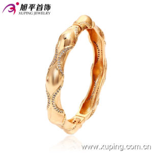 51185 Hotsales Fashion Xuping Royal Gold-Plated Imitation Jewelry Bangle with in Brass and Alloy pictures & photos