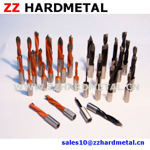 Hard Alloy Carbide Tipped Through-Hole (V point) Boring Bit pictures & photos