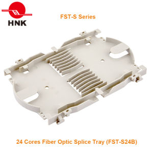 16 ~ 24 Cores Fiber Optic Splice Tray (FST-S Series) pictures & photos