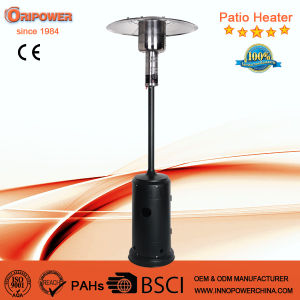 Standing Floor Propane Outdoor Gas Patio Heater in Silver Color pictures & photos