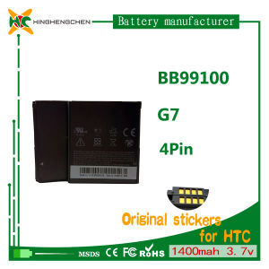 3.7V Li-ion Battery for HTC G7 Mobile Phone Battery pictures & photos