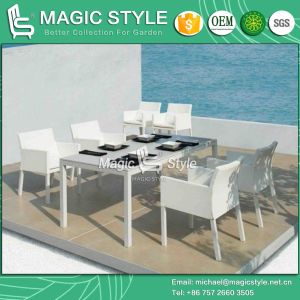 New Textile Chair Modern Dining Set Outdoor Sling Dining Set (Magic Style) pictures & photos