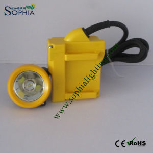 New Waterproof 6600mAh 3W CREE LED Underground Mining Light pictures & photos