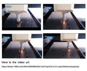Precise Cutting Application 500W Fiber Laser Cutter for Stainless Steel pictures & photos