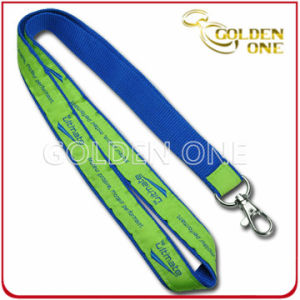 Fast Delivery Dye Sublimation Printed Polyester Fabric Lanyard pictures & photos