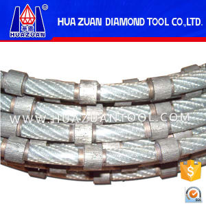 High Quality 8.8mm Diamond Cable Saw for Marble Block Squaring pictures & photos