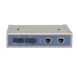 Poe Media Converter with 2 Fixed Fiber and 2 Tx Port Full Gigabit (TS0202G) pictures & photos