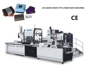 Full Automatic Box Making Machine (ZK-660AN) pictures & photos