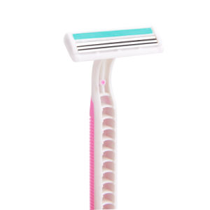 Triple Blade Stainless Steel Disposable Razor for Lady (JG-T800) pictures & photos