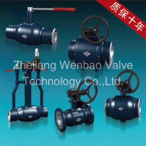 St. 20 Carbon Steel Fully Welded Ball Valve Pn25 pictures & photos